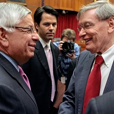 Bud Selig and David Stern 225