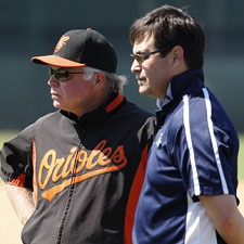 Buck Showalter Dan Duquette 225