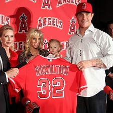 Josh Hamilton Angels 225