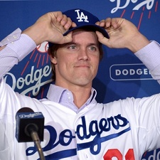 Zack Greinke Dodgers 225