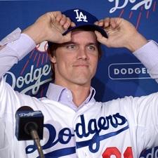 Zack Greinke Dodgers 225
