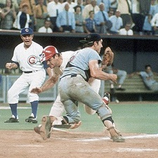 Pete Rose Ray Fosse